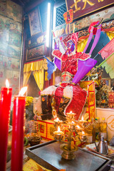 Phuket Por Tor Festival are traditionally held to ancestor worship in Chinese temple, Phuket