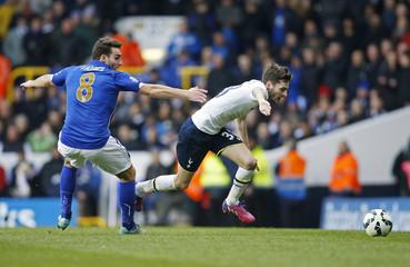 Tottenham Hotspur v Leicester City - Barclays Premier League