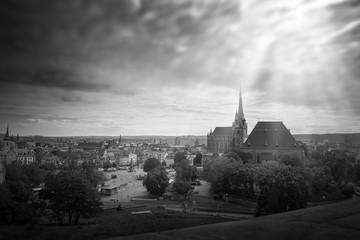 Erfurter Dom mit Domplatz