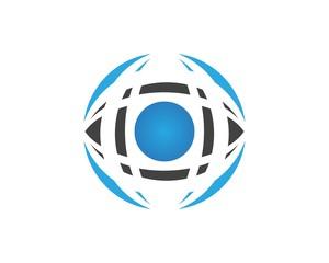 Eye Care Techno Logo