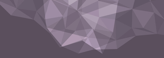 Low poly abstract crystal halftone modern template