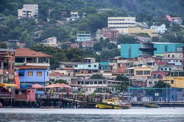 Ilha das Caieiras (Paisagem) | Caieiras Island  photographed in Vitoria, Espírito Santo - Southeast of Brazil. Atlantic Forest Biome.