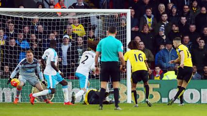 Watford v Newcastle United - Barclays Premier League