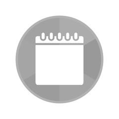Kreis Icon - Notizblock quer