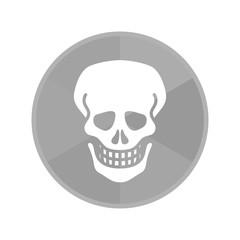 Kreis Icon - Totenkopf