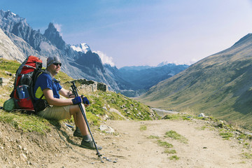 The Tour du Mont Blanc is a unique trek of approximately 200km around Mont Blanc that can be completed in between 7 and 10 days passing through Italy, Switzerland and France.