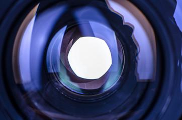 iris of a lens