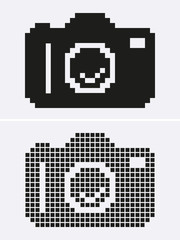 Photo or Camera pixel.