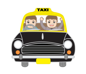 Debating Angry Man with Taxi Driver