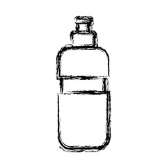 Thermo water bottle icon vector illustration graphic design