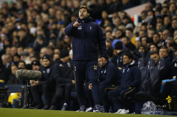 Tottenham manager Mauricio Pochettino before the match