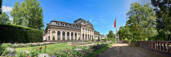 Panorama Orangerie in Fulda