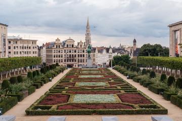 The Mont des Arts in Brussels Belgium