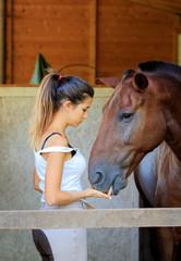 La ragazza con il cavallo