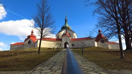 Pilgrimage Church of St John of Nepomuk in Zdar nad Sazavou, Czech Republic UNESCO listed