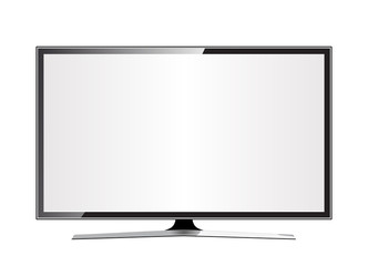 TV flat screen lcd, plasma realistic