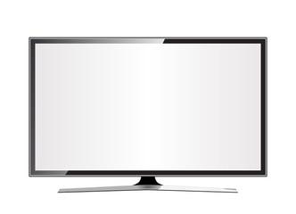 TV flat screen lcd, plasma realistic