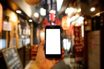 スマートフォン・繁華街