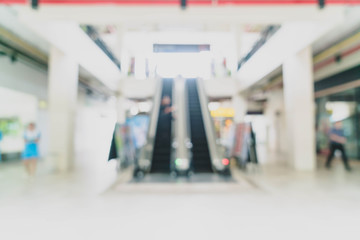 abstract blur and defocused in luxury shopping mall and retail store