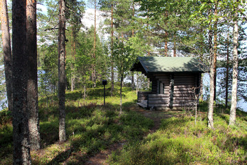 Beautiful nature of Finland