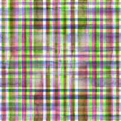 Colorful plaid seamless pattern