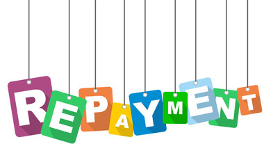 vector illustration background repayment