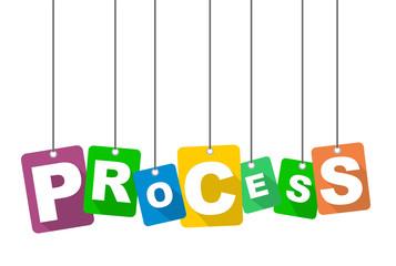 vector illustration background process