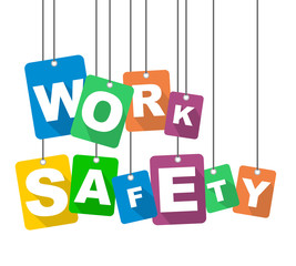 vector illustration background work safety