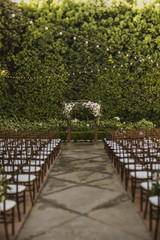 Outdoor Garden Ceremony