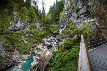 Kkitzloch Kitzlochklamm Gorge Taxenbach Austria