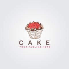 Cake Icon Logo