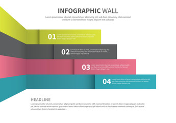Colorful Infographic Wall Layout 1