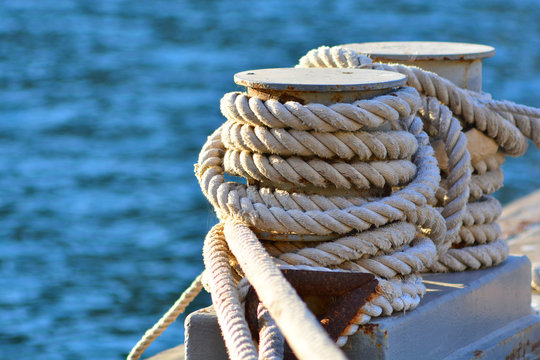 Nautical coil rope