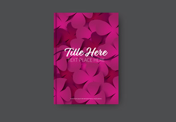 Abstract Book/Report Cover Layout 25