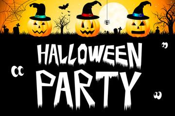 Halloween card - Halloween Party