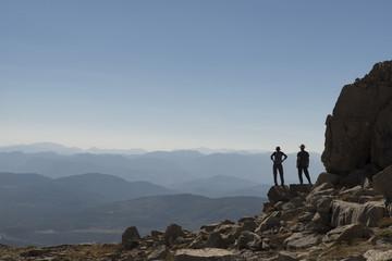 magic and joy of mountain ranges