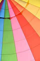Colors of a hot air balloon