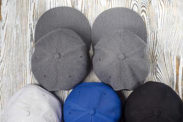 Snapback hats isolation
