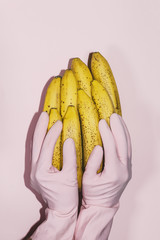 bananas,food,colorful,touch, love, maintenance,sex, cleaning