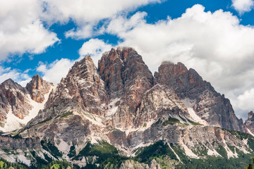 Italian Dolomites, Rocky Mountains during Summer