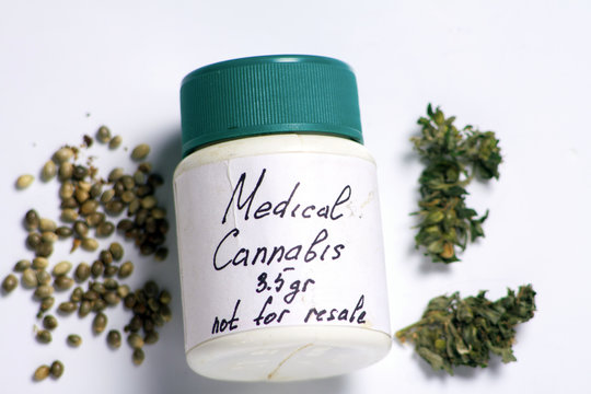 box for medical marijuana as directed by a doctor for the treatment of marijuana