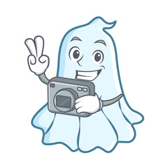 Photography cute ghost character cartoon