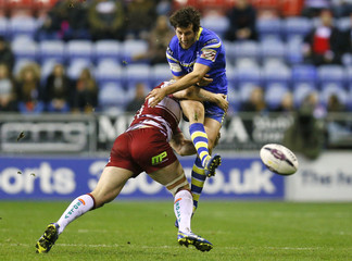 Wigan Warriors v Warrington Wolves - First Utility Super League