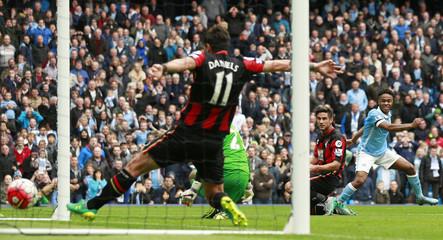 Manchester City v AFC Bournemouth - Barclays Premier League