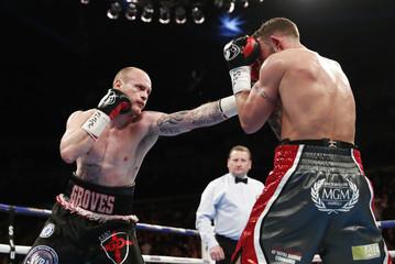George Groves v David Brophy WBA International Super-Middleweight Title