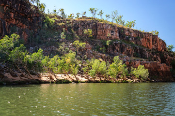 Cruising on the Katherine River Gorge, Northern Territory, Australia