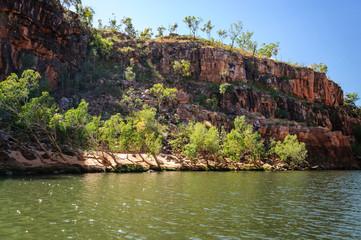 Cruising on the Katherine River Gorge, Northern Territory, Australia