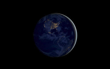 Night Earth Space Planet HD