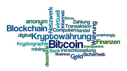 Word Cloud - Bitcoin
