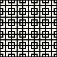 abstract seamless geometric grid square vector pattern